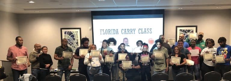Tampa Carry Concealed Carry Class Students